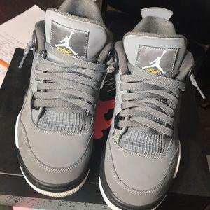 Air Jordan 4 Retro (GS) Cool Greys